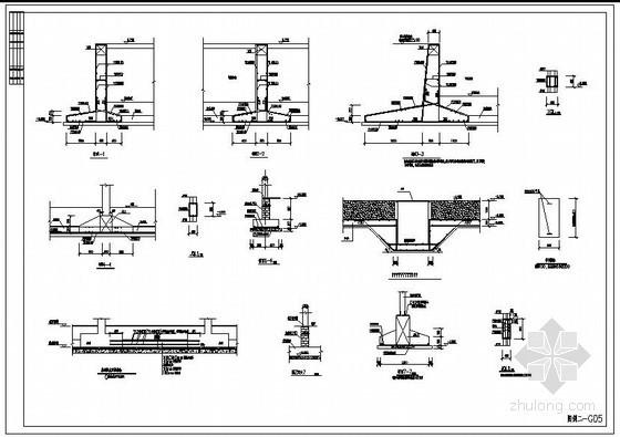某基础防水底板做法节点构造详图