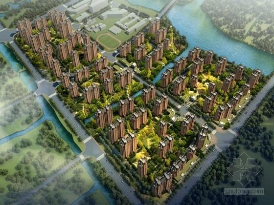 [上海]新古典风格住宅区规划方案文本(含CAD)