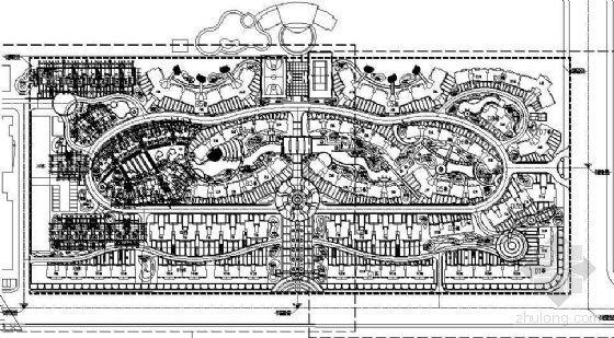 [广西]高档住宅区景观设计施工图