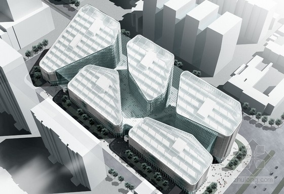 [北京]大型知名SOHO城市综合体项目建筑设计方案文本(知名事务所 已落成)