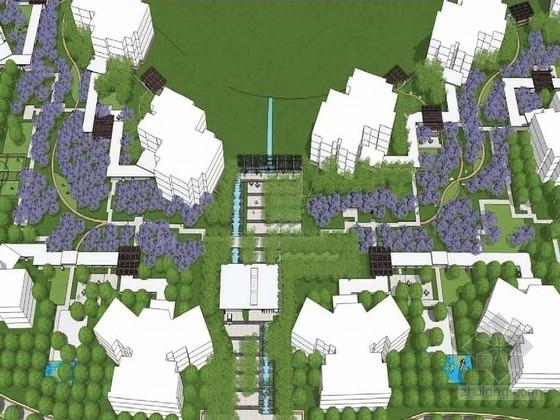 [重庆]自然地貌居住区景观规划设计方案