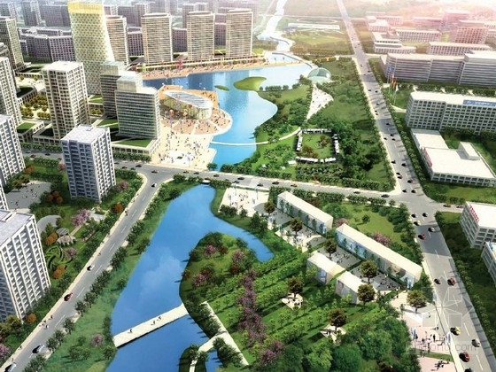 [全国]新城景观规划与发展案例研讨方案
