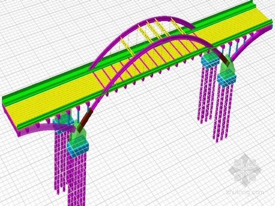 拱桥及梁桥BIM模型图26张