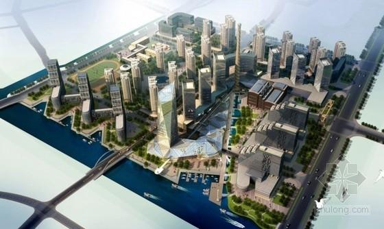 平面厂房规划规划文本资料下载-[杭州]城市综合体规划及单体设计方案文本