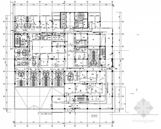 大型医院弱电智能化电气施工图纸(含楼宇自控)