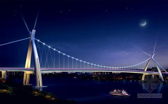 45+410+45m羊角编钟造型悬索桥实施性施工组织设计(110页附多个CAD图)