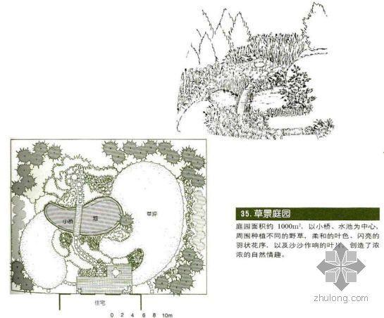 草景庭院景观设计图