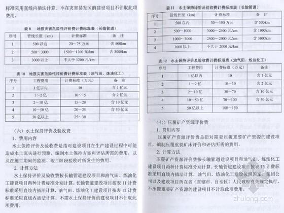 中国石油天燃气建设项目其它费用和相关费用规定(36页)