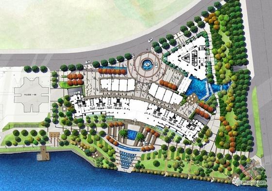 杭州居住区景观设计方案