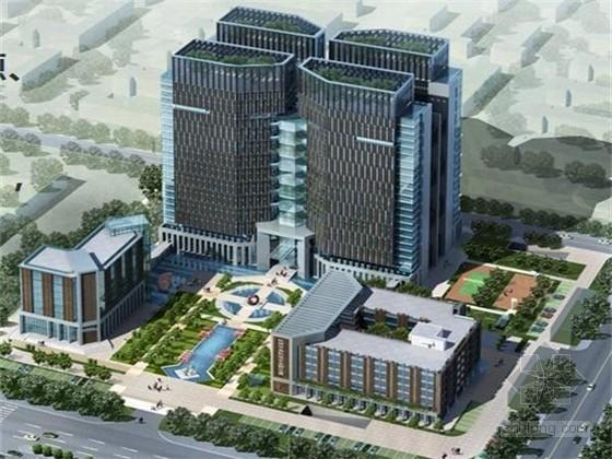 高层框剪结构商务办公楼工程质量创优汇报(鲁班奖)