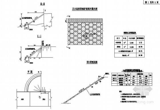 40m预应力混凝土连续T梁桥锥坡一般构造节点详图设计