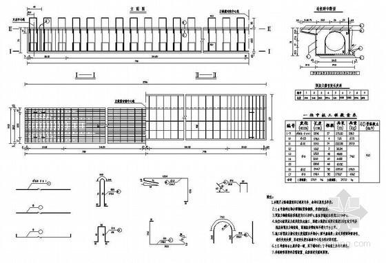 16米PC混凝土先张法空心板钢筋构造节点详图设计