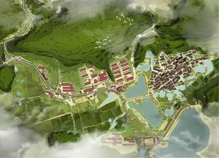 [南京]美丽乡村景观改造一期规划设计方案