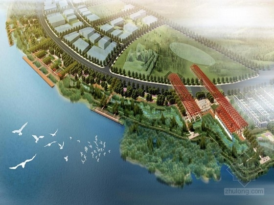 [上海]世博会湿地公园景观规划设计方案(北京著名景观设计公司)