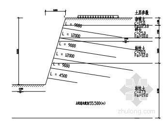 [河南]地下车库深基坑支护及降水设计方案(土钉墙)