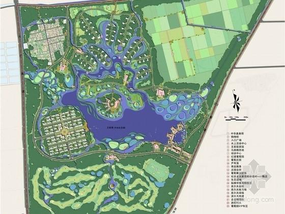 [河南]某生态公园核心区规划设计方案