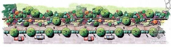 云南经济开发区道路景观设计方案全套(投标方案)