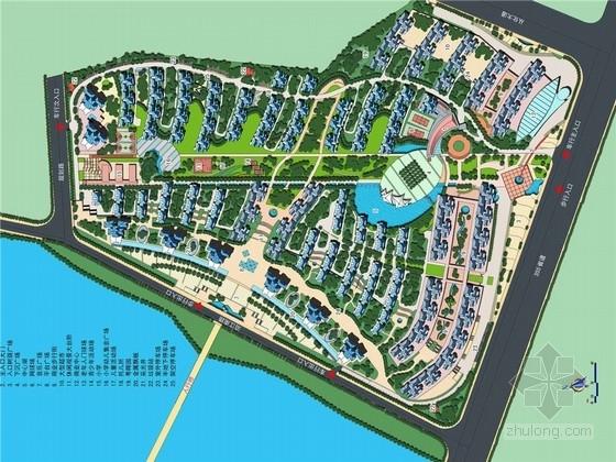 [广州]花园式高档居住区景观规划设计方案