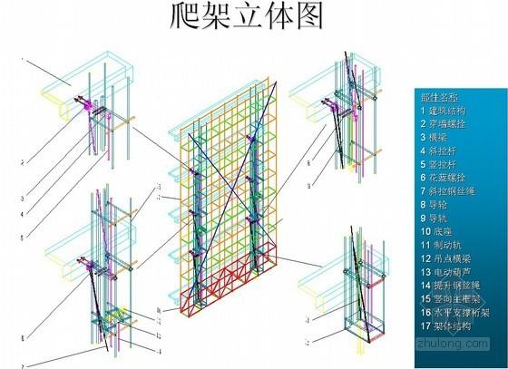 建筑工程爬架施工方案展示(多图)