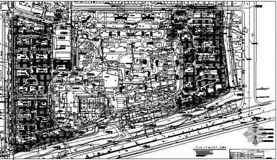 [北京]高等住宅小区景观设计施工图