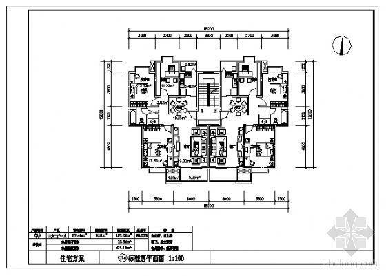 三室两厅一卫(107m2)