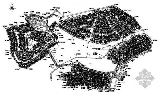 某小区(4128号)规划平面图