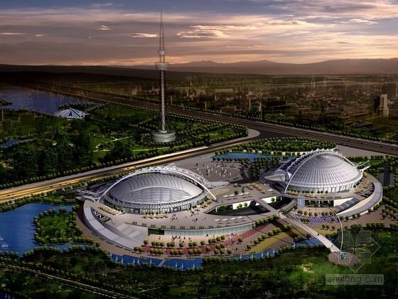 [山东]2层大型体育馆建筑方案文本