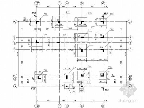 四层剪力墙结构别墅结构施工图