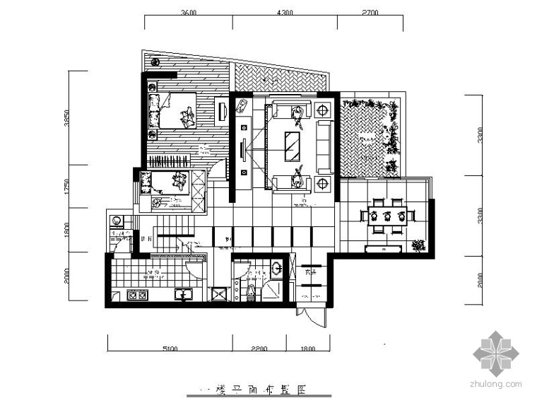某三层洋楼室内装修图_1