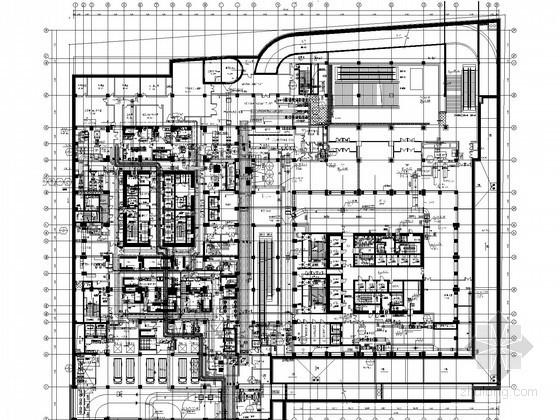 [青岛]237米超高层酒店暖通空调设计施工图(知名院设计)