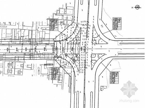 [安徽]市政道路改造工程施工图设计128张(交通 给排水)