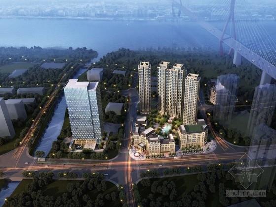 [上海]商业及办公综合地块规划及单体建筑设计方案文本