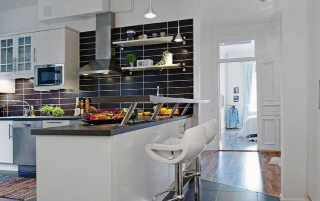 开放式厨房到底能不能刷乳胶漆,这个问题终于有答案了!