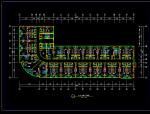 焦作林源大厦多层酒店建筑设计(施工图CAD)