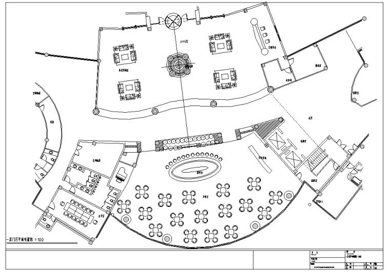 上海异型酒店局部室内装修设计施工图(63张)_5