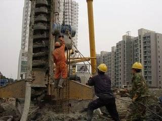 混凝土灌注桩工艺施工过程