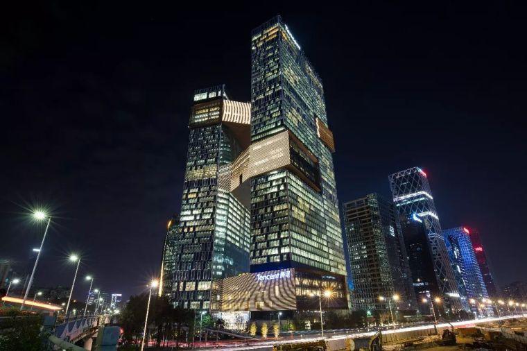 腾讯全球新总部滨海大厦!你牛了!