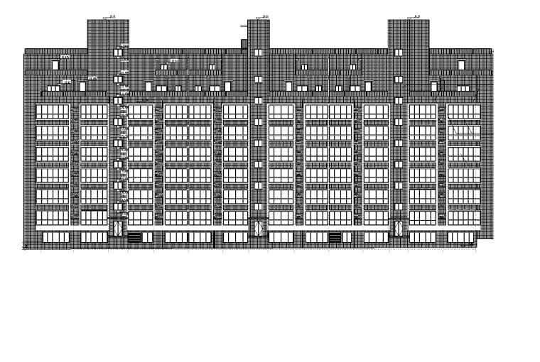 [德州]信誉楼房施工图建筑设计(清华大学建筑院)
