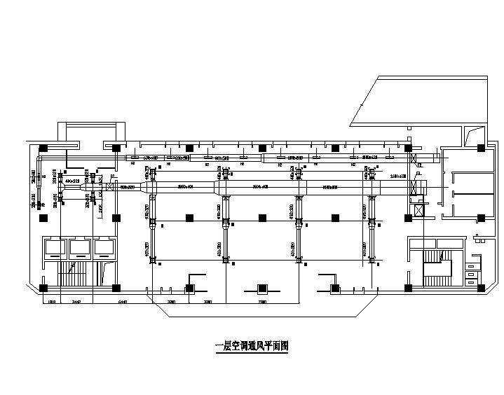重庆商业综合体小高层暖通施工图