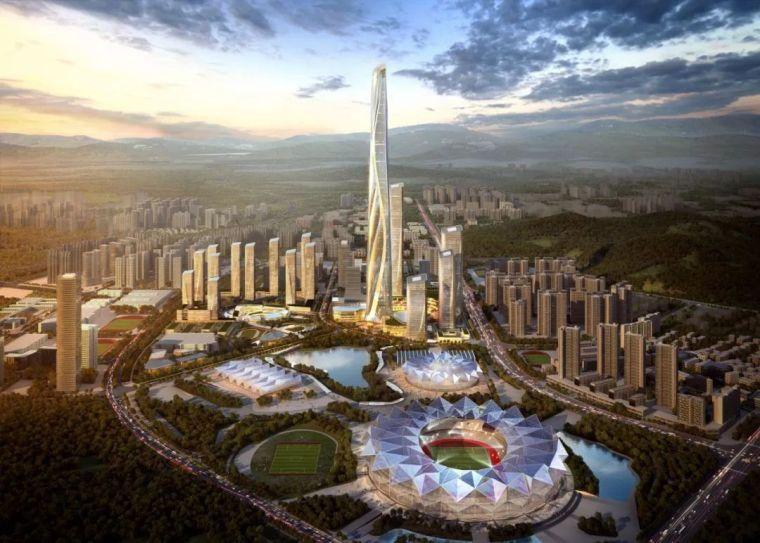 700米,中国最新第一高楼诞生!!