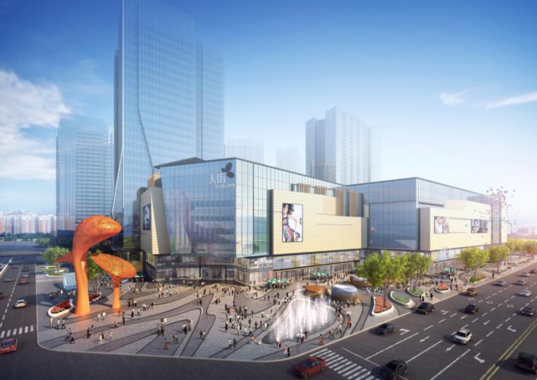 [四川]龙湖紫宸商业项目景观设计方案 A-2 效果图