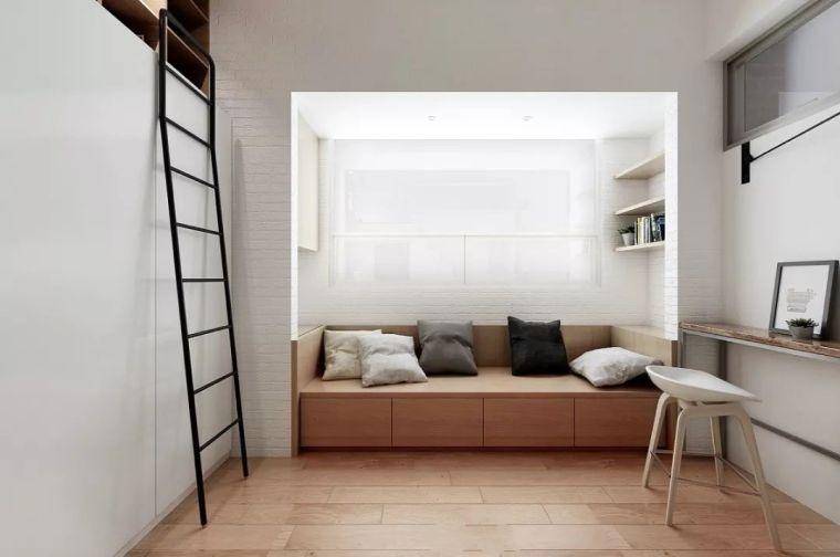 榻榻米床+柜子如何组合设计?35个案例告诉你..._27
