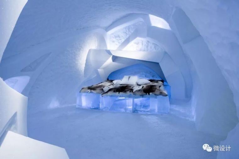 用冰块做酒店