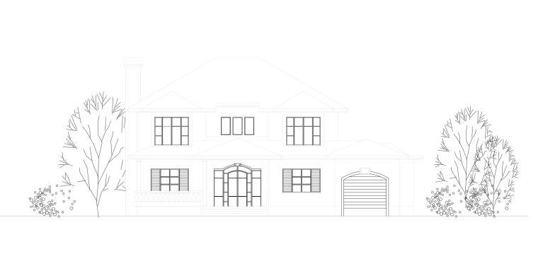 [合集]新農村建筑及農村自建房別墅施工圖(部分圖紙含效果圖)