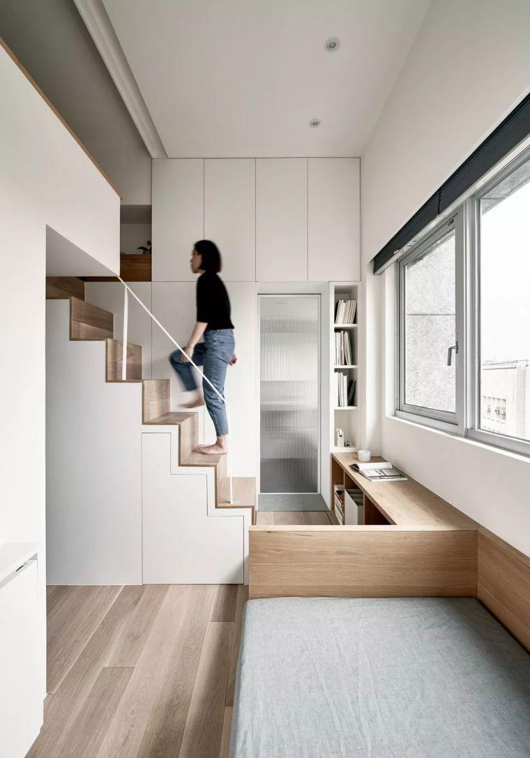 一个人的豪宅——17.6㎡极小公寓_5