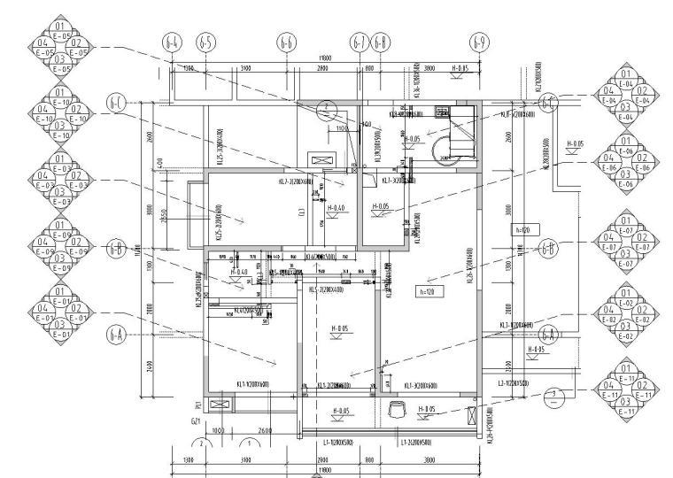 [广东]河源宝晟地产四期宝格丽公馆室内施工图设计(包含CAD+JPG)