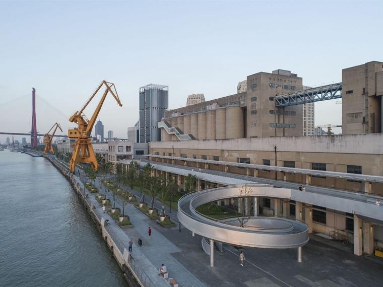上海民生码头景观
