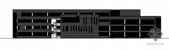 无锡惠山某学校规划区行政楼建筑结构方案图