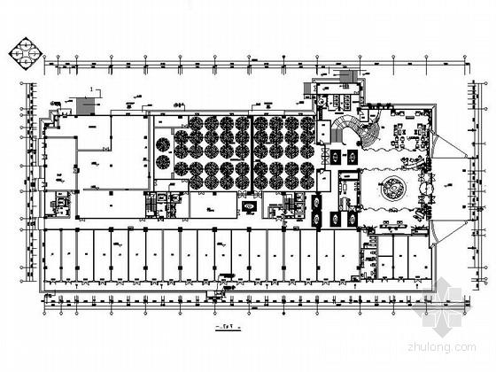 [江西]高档次一流特色中式风情四星级酒店装修方案图