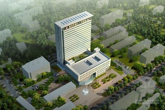 [江苏]现代风格人民医院门诊急诊住院综合楼建筑设计方案文本